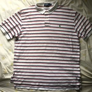 Vintage Striped Oversized Ralph Lauren Polo Shirt